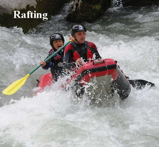 eaux sauvages,canoë,kayak,vtt,roller,canyoning,rafting
